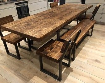 Extendable Round Dining Table 6 8