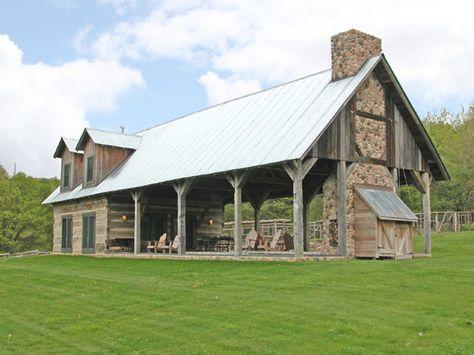 Rustic Home Designs | Log Home Designs | Timber Framed Homes ...