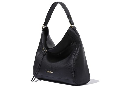 Large Gancio Hobo Bag - Hobos   Shoulder bags - Handbags - Women - Salvatore  Ferragamo 9ec2c247e9d48