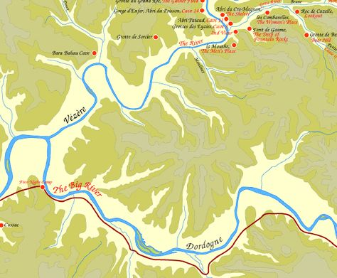 Map Of The Plains Of Passage Journey From The Donau Mouth To First
