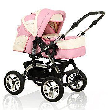 Buggy Kinderwagen all inclusive Paket in 38 tollen Farben 15 teiliges Qualit/äts-Kinderwagenset 2 in 1 CITY DRIVER