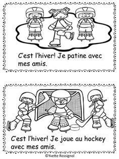 Petit Livre Gratuit Pour L Hiver L Hiver Francais