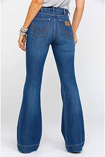 The Perfect Wrangler Women S Midtown High Rise Med Trouser Jeans Womens Fashion Jeans 135 Topbrandshits From Top S Best Jeans For Women Women Jeans Clothes