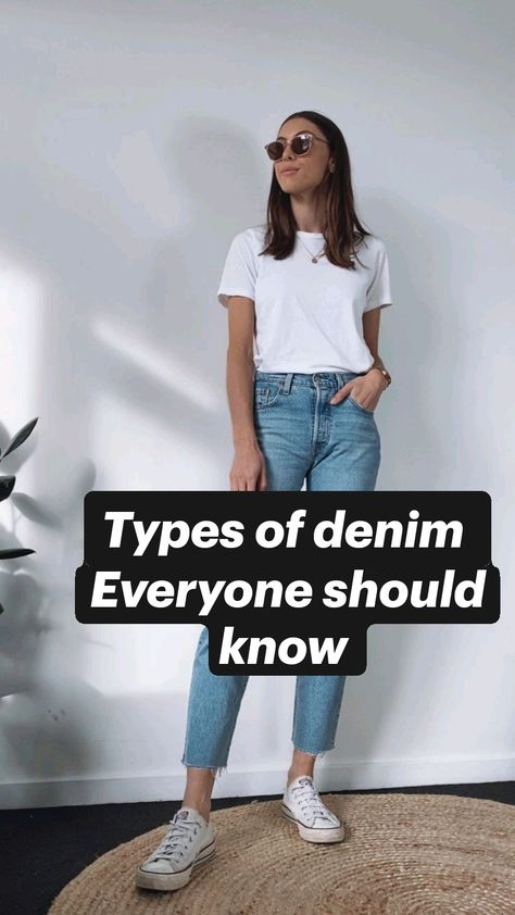 Types of denim  Everyone should know