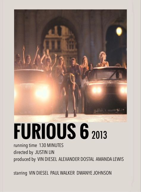 Furious 6 by Millie