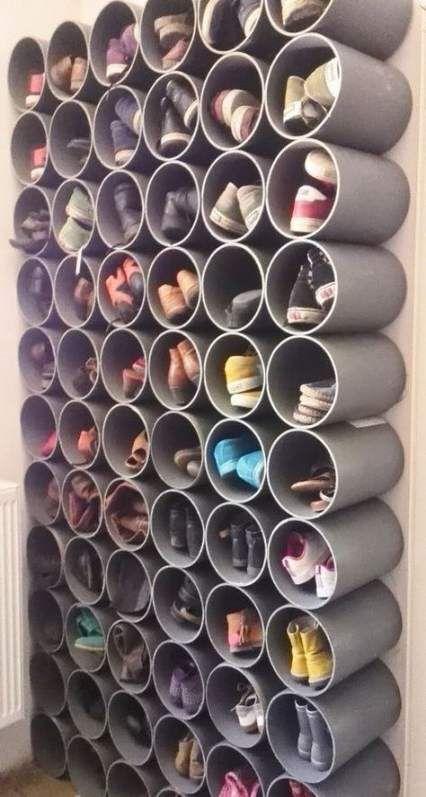 19 New Ideas Bedroom Storage Ideas Shelves Shoe Racks Hranenie Obuvi Dekor Dachi Hranenie