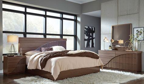North Platform Bedroom Set In 2020 Platform Bed Sets King