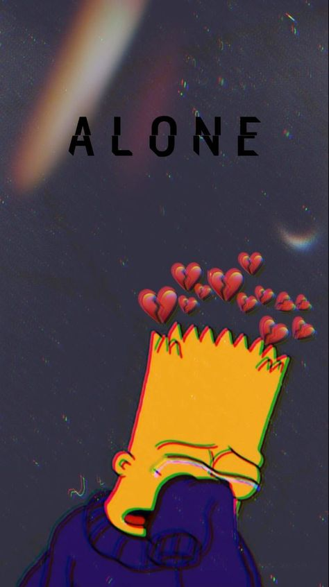 Sad Bart  #Bart #planodefundo #sad #fictionalcharacters Sad Bart  #Bart #planodefundo #sad