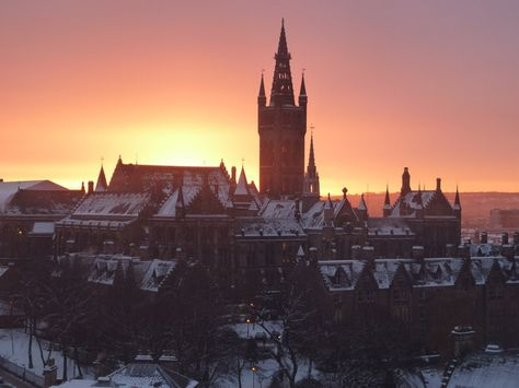 University of Glasgow, Scotland | Community Post: 10 Uniquely Stunning College Campuses From Around The World