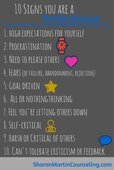 Signs you are a perfectionist #perfectionist