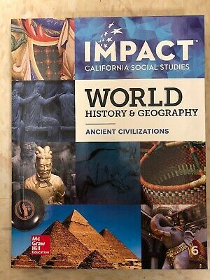 Impact California Social Studies World History Geography Mcgraw Hill 2019 6 9780076755905 Ebay History Geography World History Geography