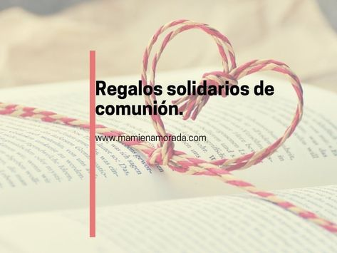 Detalles Solidarios Bautizo.Pinterest Pinterest
