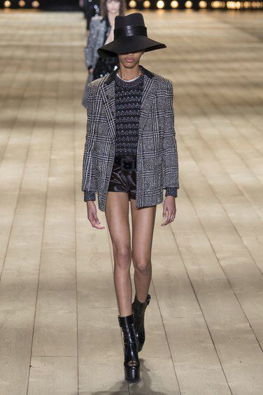 Saint Laurent Fall 2018 Ready-to-Wear Fashion Show Collection