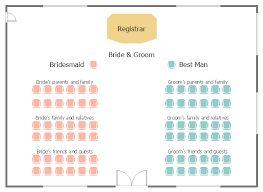Wedding Ceremony Seating Chart