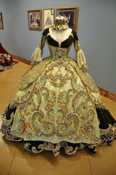 18th Century French Ball Gown Historical Dresses Vintage Gowns Victorian Fashion