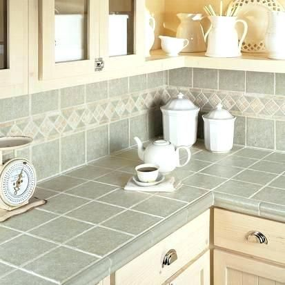 Enchanting How To Tile A Kitchen Countertop Figures Idea How To