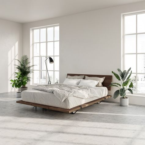 The Floyd Platform Bed in birch offers a modern look that fits with any home. Requires no tools for assembly and ships straight to your door. Modern Bedroom, Home, Modern Platform Bed, Home Bedroom, Bedroom Interior, Bedroom Makeover, Luxurious Bedrooms, Bed, Bedroom Decor