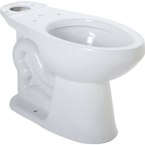 seasons® raleigh™ elongated toilet bowl ada   hd supply