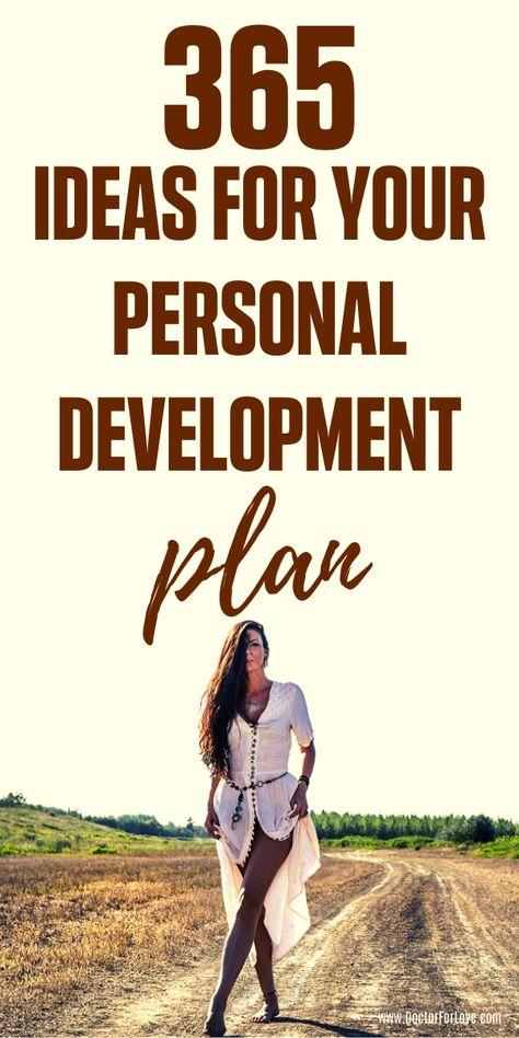 365 Self-Development Ideas For your Personal Development Plan