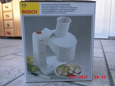 Durchlaufschnitzler für Küchenmaschine Bosch MUM 44, Zubehör - bosch mum küchenmaschine