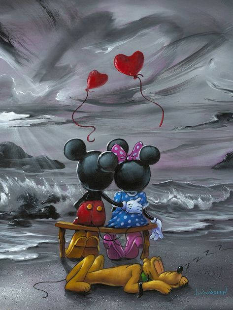 Mickey and Minnie Forever Love (Treasures)