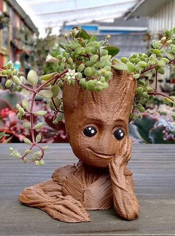 Baby Groot Planter Baby Groot 3D Printed Planter Guardians of the Galaxy Groot
