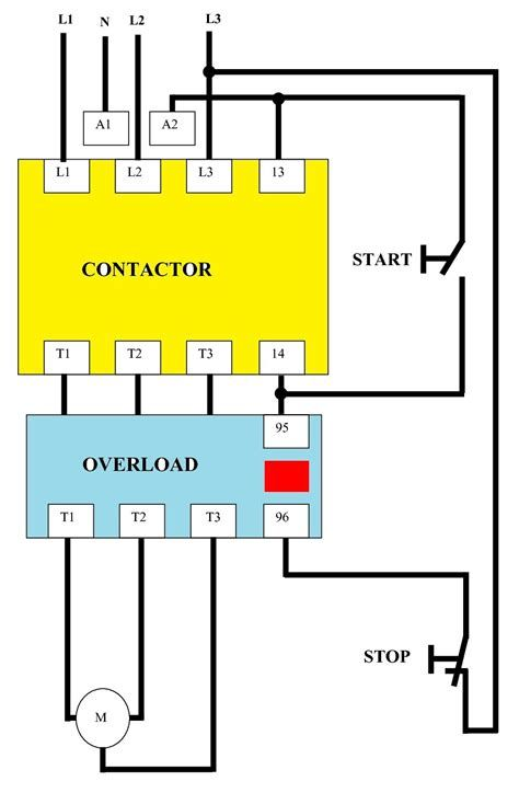 Schematic Wiring Diagram Of Dol Starter Post Date 27 Dec Circuit Diagram Electrical Circuit Diagram Electrical Wiring