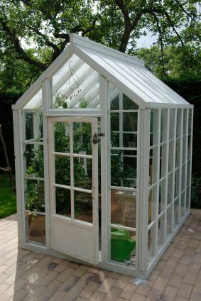 Small Greenhouse Would Love To Have One The Outside World - Build small greenhouse with old windows