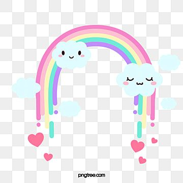 Arcoiris Kawaii Con Linda Decoracion De Nubes Imagenes Predisenadas De Arco Iris Kawaii Arco Iris Png Y Psd Para Descargar Gratis Pngtree Rainbow Clipart Rainbow Png Cartoon Clouds