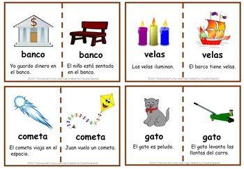 Palabras Homofonas Y Homografas Spanish Language Learning Teacher Pay Teachers Learn English