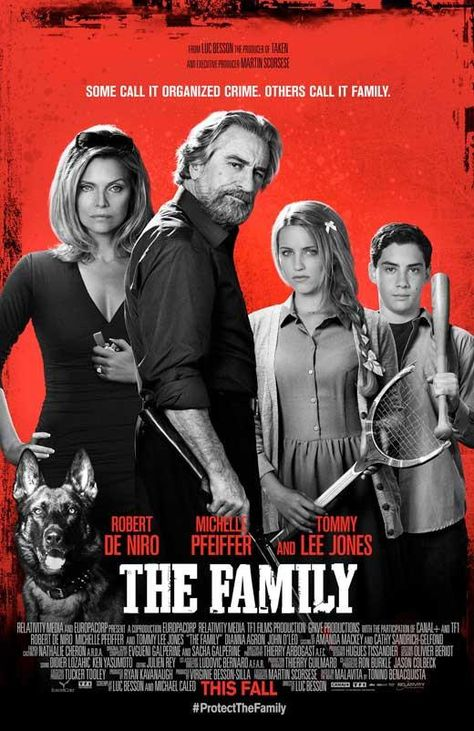 The Family 27x40 Movie Poster (2013)