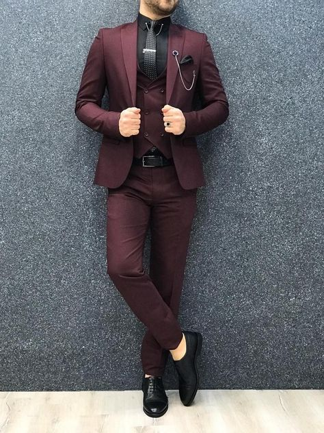 Blazer Outfits Men, Stylish Mens Outfits, Business Casual Outfits Men, Business Suits Men, Men Blazer, Indian Men Fashion, Mens Fashion Suits, Mens Suits Style, Mens 3 Piece Suits