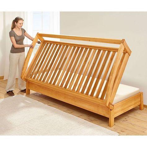 Klapp Gaste Bett Folding Guest Bed Furniture Bed