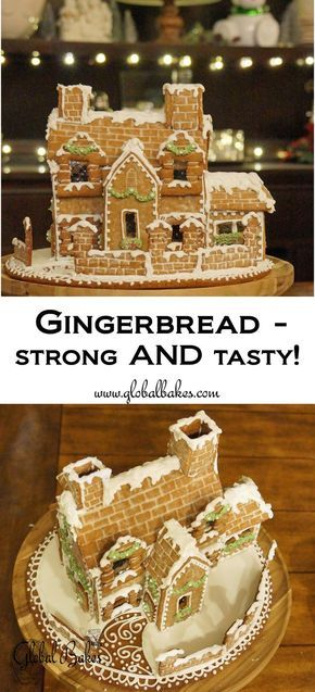 Gingerbread For Construction And Eating Gingerbread House