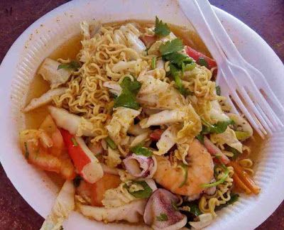 Resepi Kerabu Maggi Siam Sedap Dan Simple Food Ethnic
