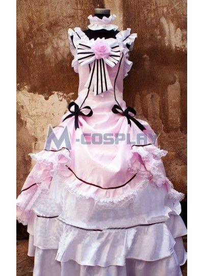 Black Butler Shieru Female Cosplay Costume