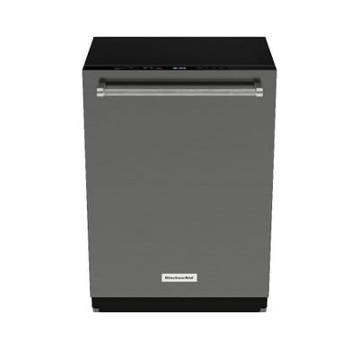 Kitchenaid Top Control Built In Tall Tub Dishwasher In Printshield Stainless With Fan Enabled Prodry 39 Dba Kdte3 Steel Tub Top Control Dishwasher Kitchen Aid