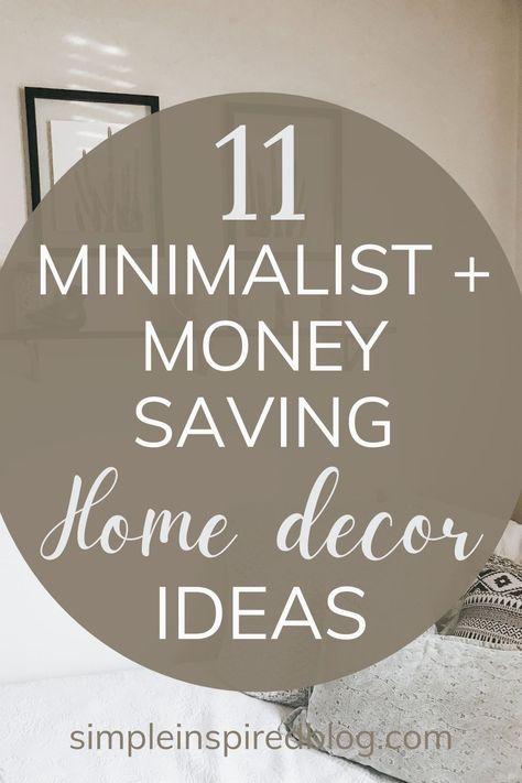 #homedecor #homedecorideas #homedecortips #minimalisthome #minimalisthomedecor #minimalist #minimalism #simplify #roomdecor #beautifyyourhome #moneysaving #frugalliving