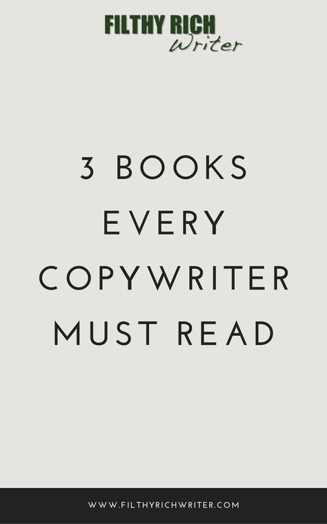 Just launched your online copywriting business or blog? Or maybe you're trying to brush up on your marketing or copywriting skills? Then this list of must-read books for entrepreneurs and bloggers is a perfect place for you to start. #flthyrichwriter #mustreadbooks #copywriting #copywritingtips #entrepreneur