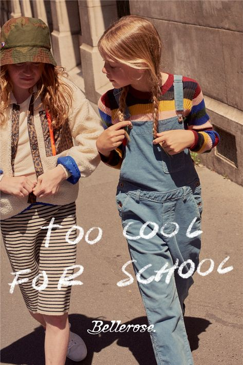 Ready to go back to school ?  Discover a collection dipped in early 90s vibes, in which comfort and playfulness go hand in hand with an urban flair and popping colors