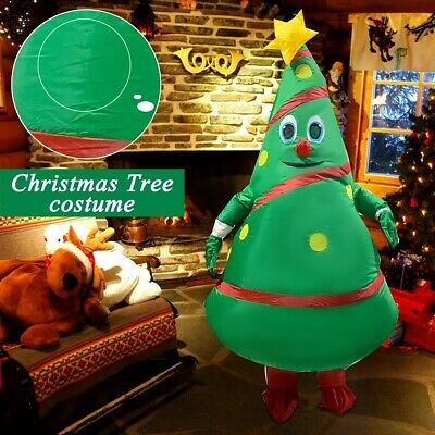 Christmas Tree Inflatable Costume For Adults Halloween Carnival Cosplay Party Us Affilink Hallo Christmas Tree Costume Inflatable Christmas Tree Tree Costume