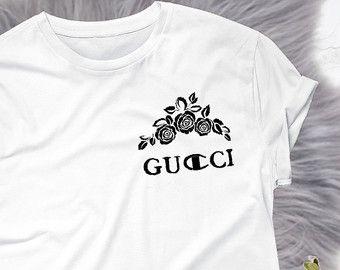 68f7e5a6b2 Gucci Champion designer logo luxury funny tumblr tee t-shirt shirt