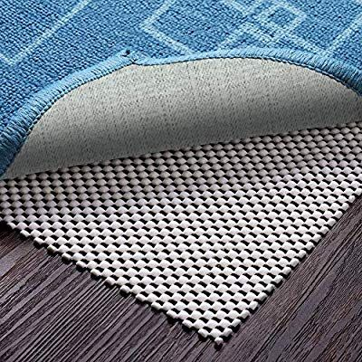 Amazon Com Veken Non Slip Area Rug Pad Gripper 8 X 10 Ft Extra Thick Pad For Any Hard Surface Floors Keep Your Rugs Safe And I Area Rug Pad Cool Rugs Rug
