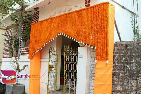 Entry Gate Flower Decoration