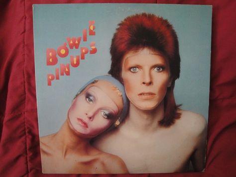 "DAVID BOWIE ""BOWIE PINUPS"" VINYL LP 1973 RCA VICTOR APL1-0291, STEREO EX"