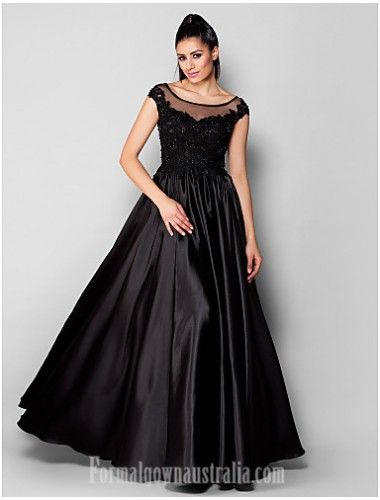 blackformaldress Australia Formal Evening Dress Black Plus ...