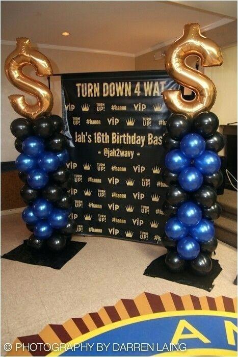 16th Birthday Banner For Boy Boy 16th Birthday 16th Birthday Party Ideas 16th Birthday Party