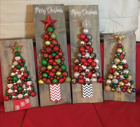 Christmas Tree Ornament Board Xmas Crafts Christmas Crafts Christmas Crafts Diy