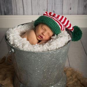 Huggalugs Childrens Fairisle Snowflake Beanie Hat