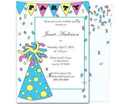 Unique Birthday Invitation Letter In English With Images Party